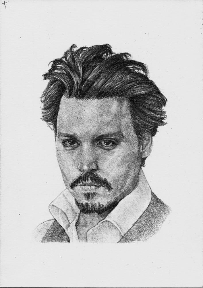 Johnny Depp par Exalion